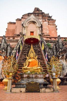 Chiang Mai - Wat chedi luan