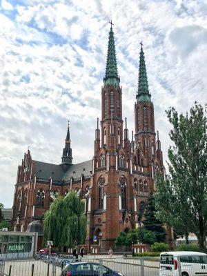 kostol vo Varšave