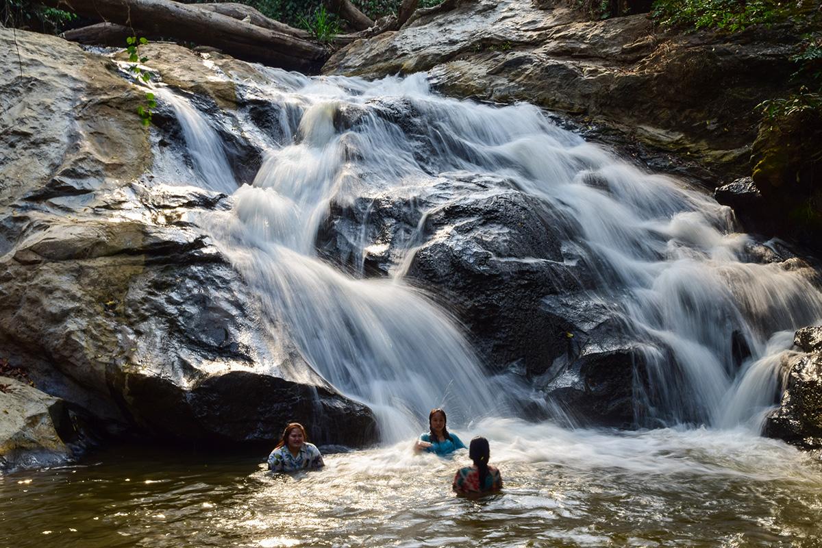 Chiang Mai - Thajsko vodopády