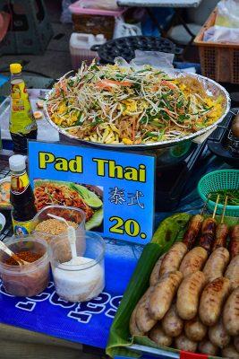 Chiang Mai - streetfood, Pad Thai