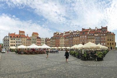 historické centrum Varšava