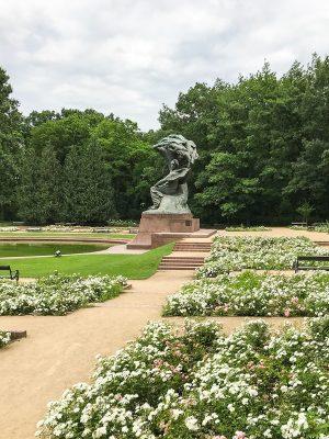 pomník Frederyka Chopina