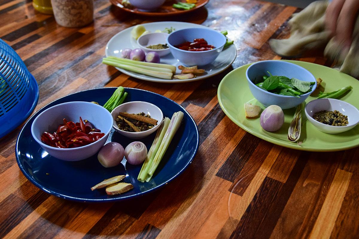 Chiang Mai - škola varenia