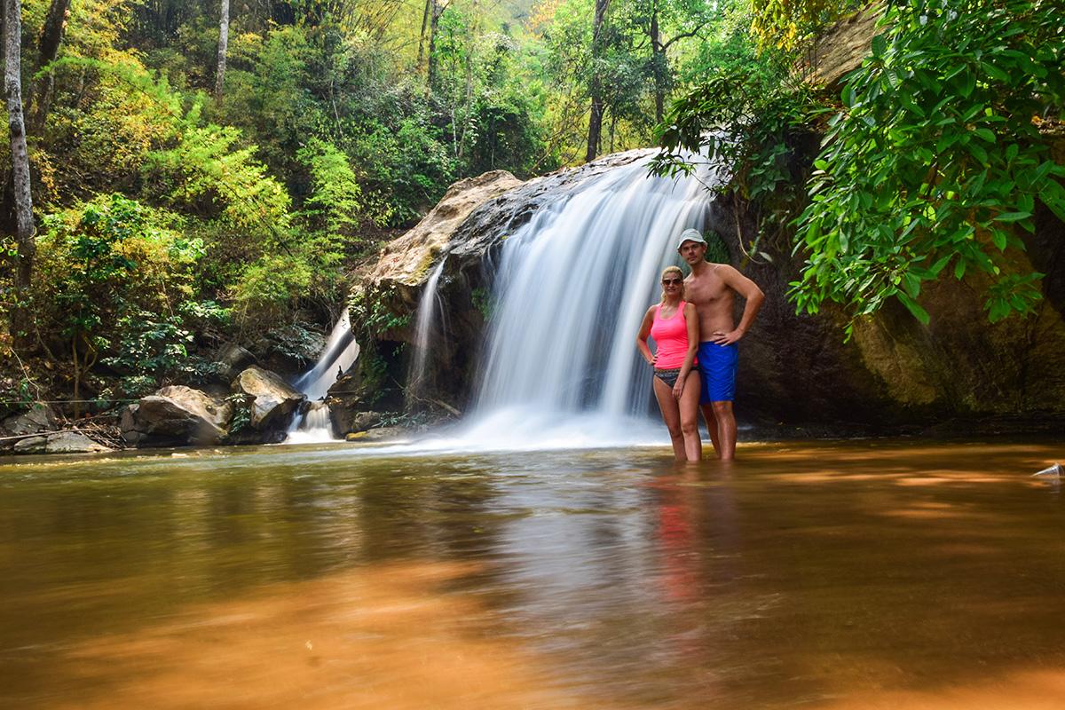 vodopády pri Chiang Mai