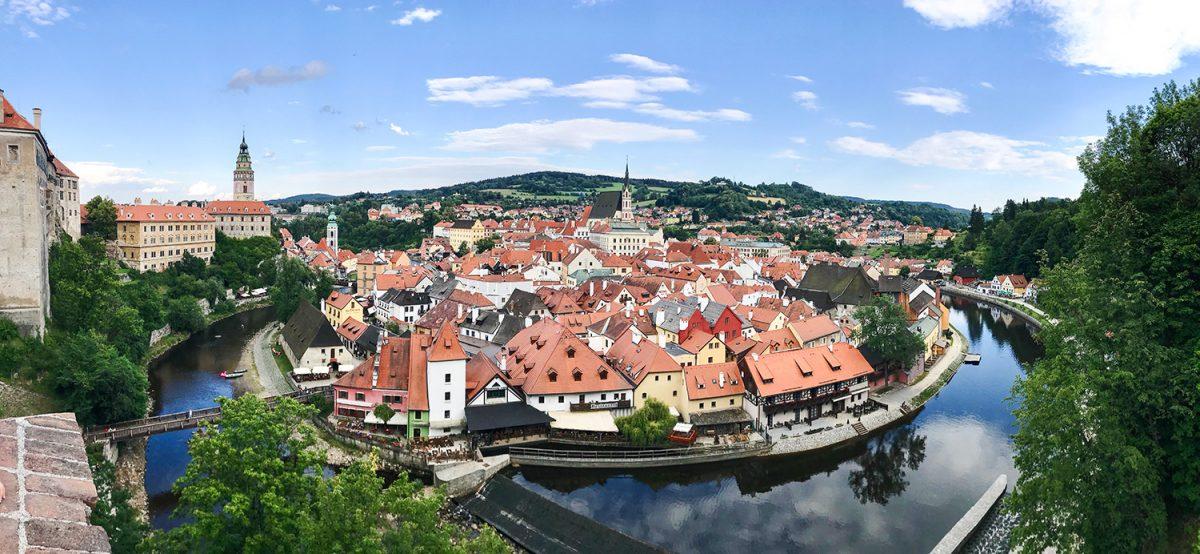Český Krumlov - panoráma
