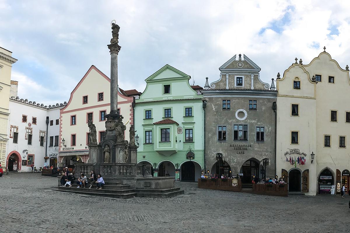 Český Krumlov - námestie svornosti