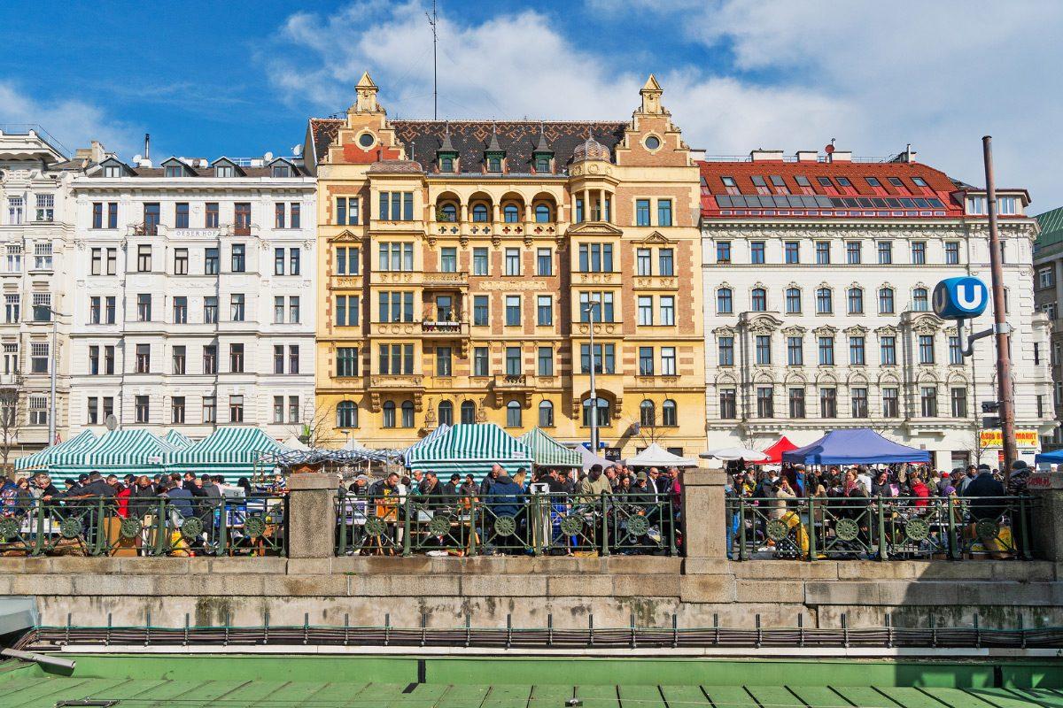 Naschmarkt Viedeň