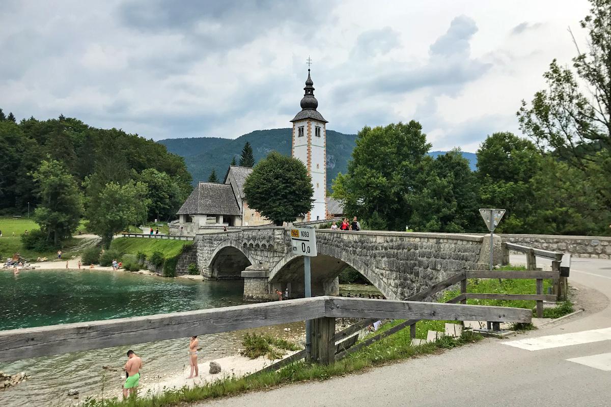 Jazero Bohinj - Slovinsko