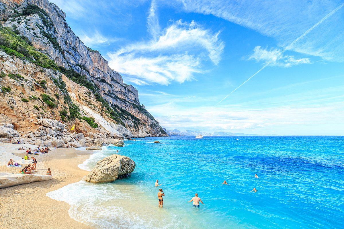 Pláže Sardínia