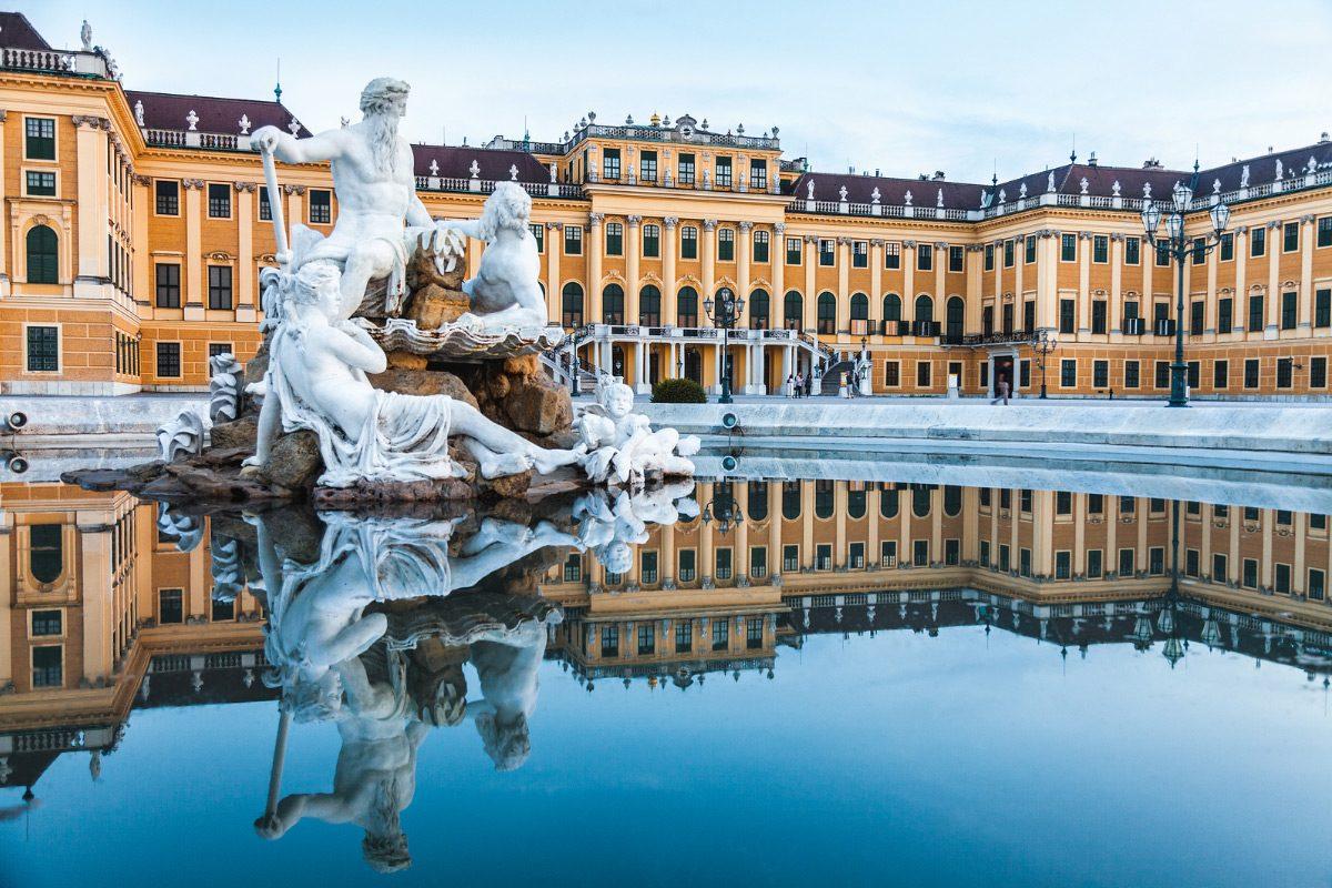Schonbrunn Viedeň