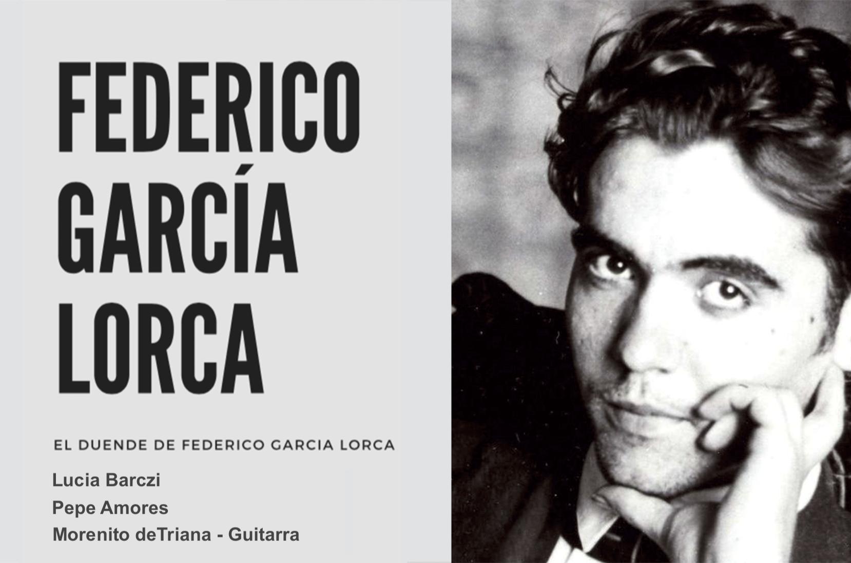20:00 recitál Frederico Garcia Lorca
