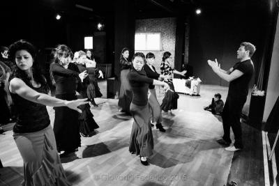17:30 flamenco workshop Juan Polvillo