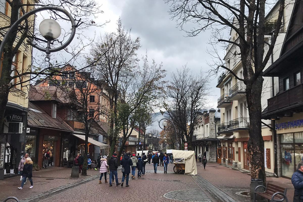 Krupowki, Zakopané