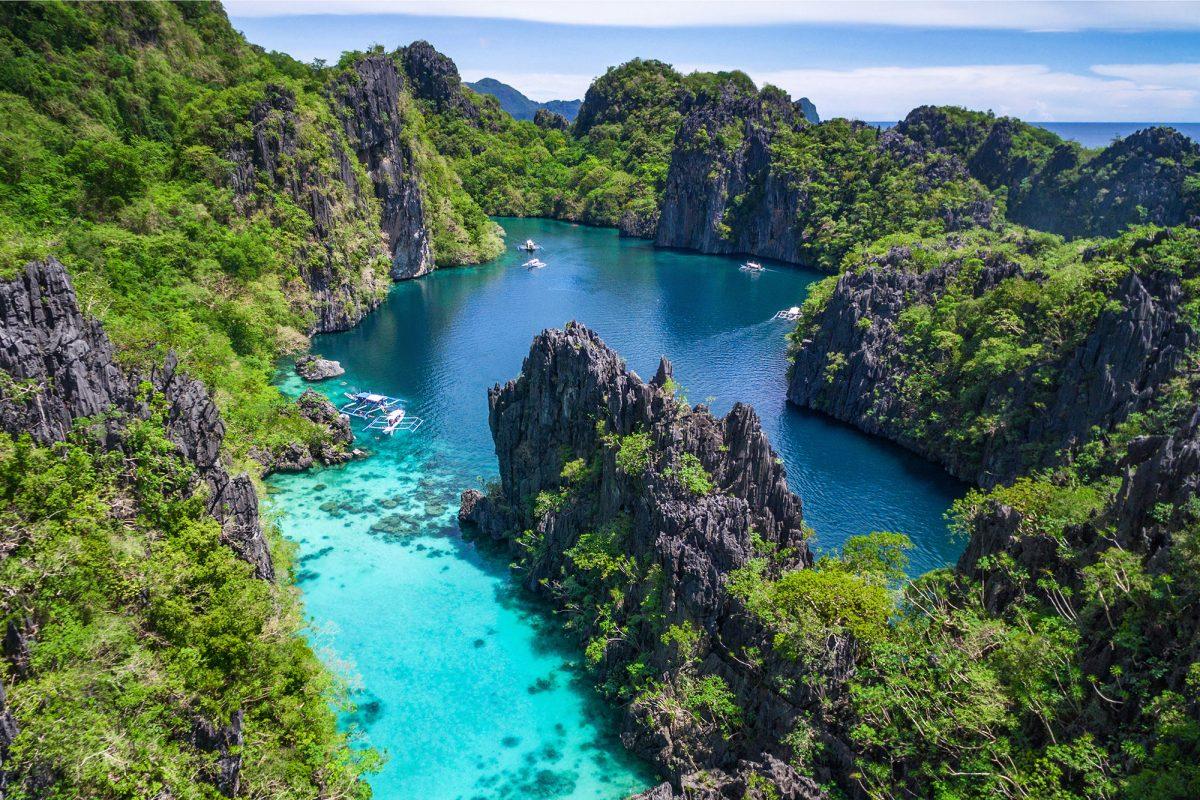 El Nido lagúny - Filipíny