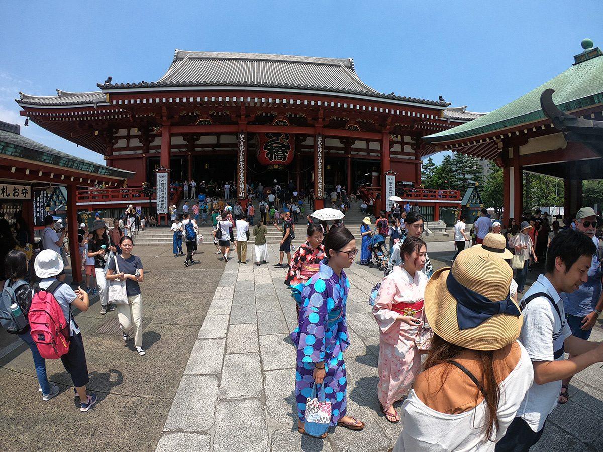 Asakusa chrámy