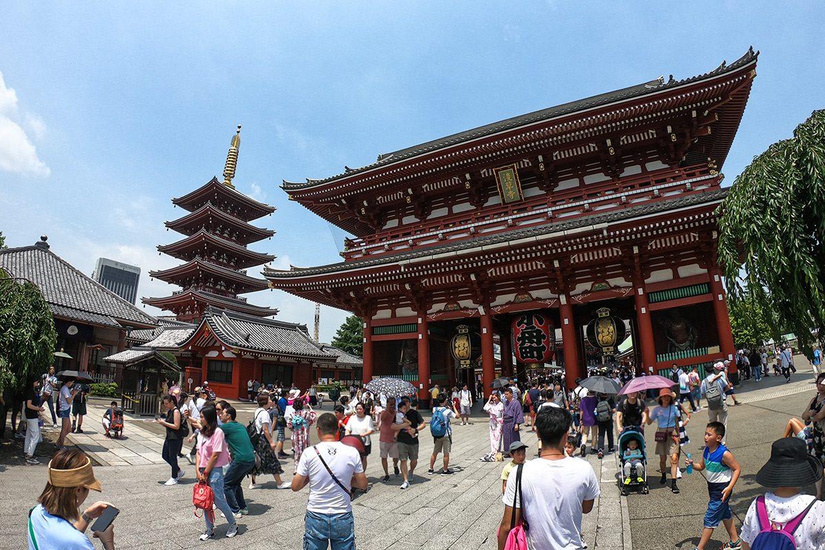 chrám Asakusa