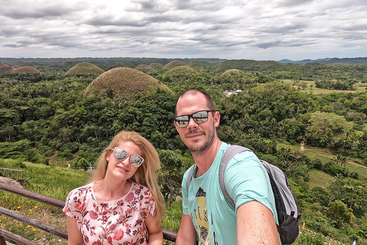 Čokoládové kopce na ostrove Bohol