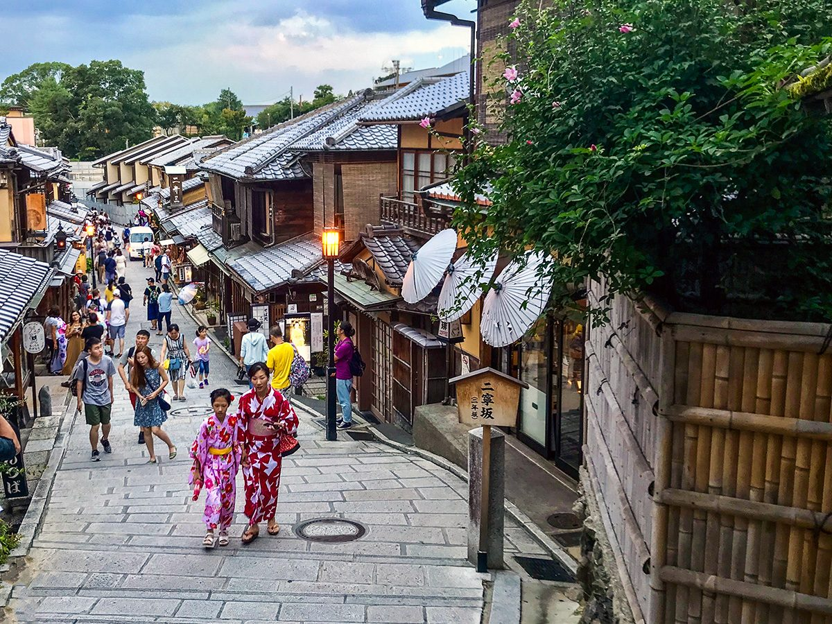 Kyoto, Geisha štvrť Gion