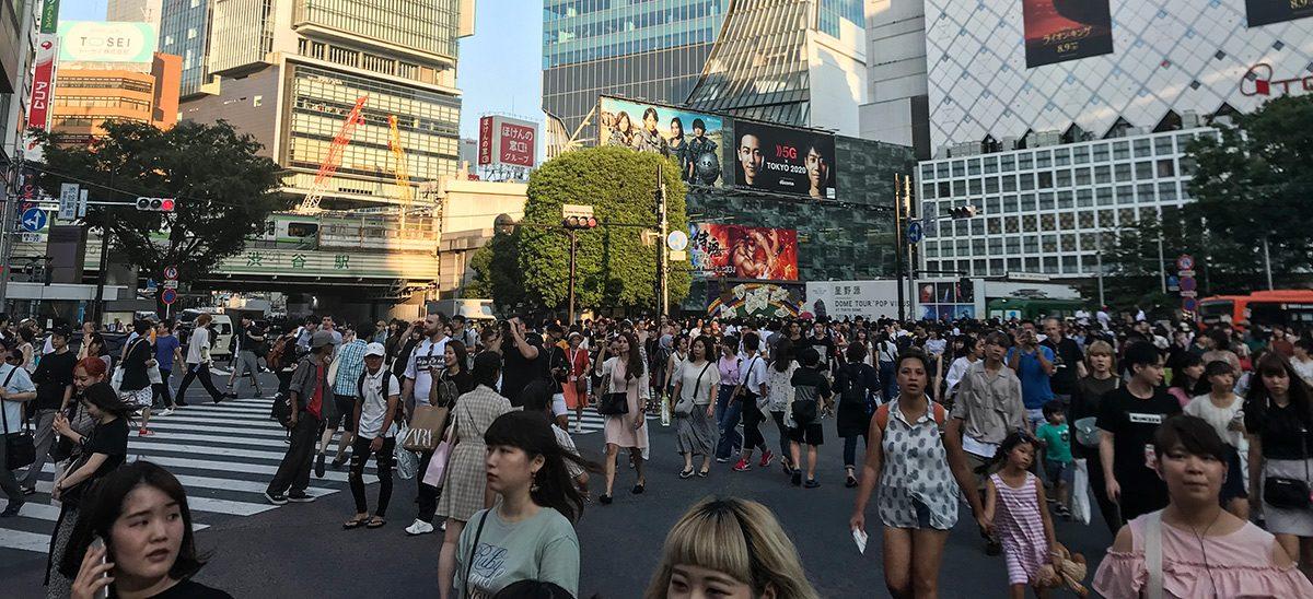 Shibuya križovatka