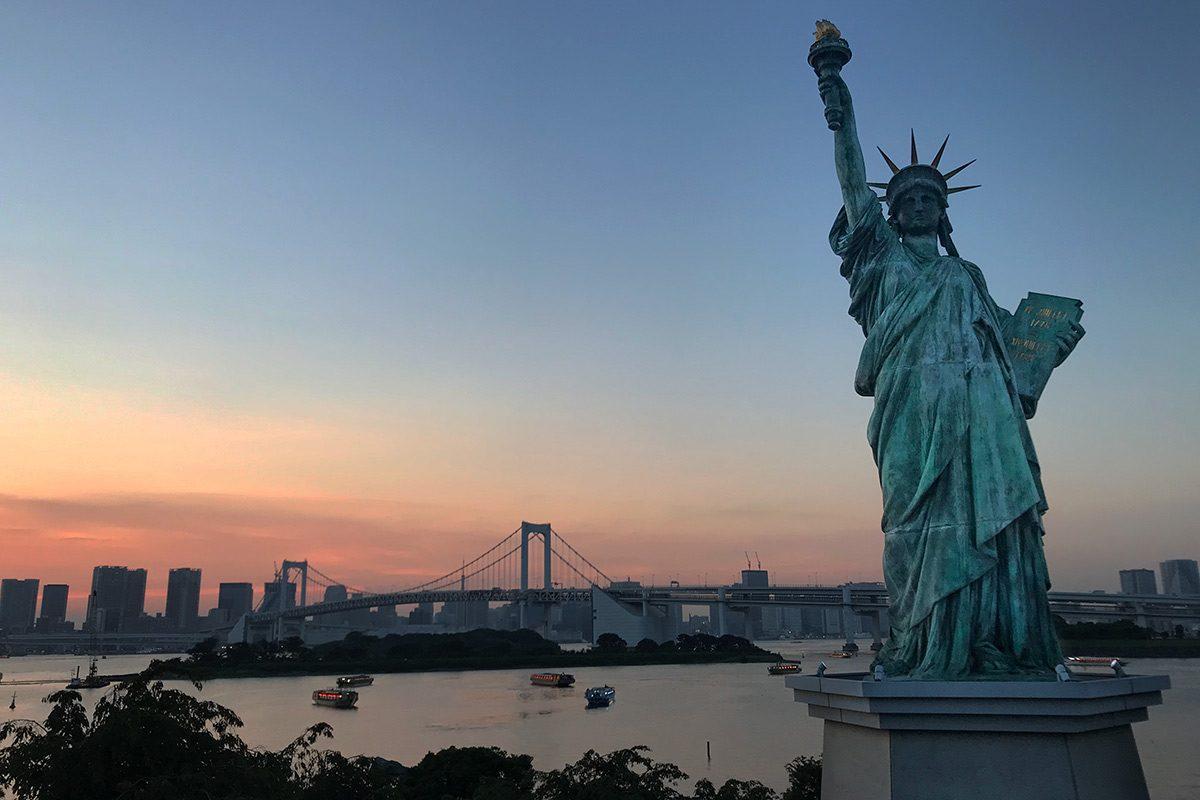Socha slobody v Tokyo