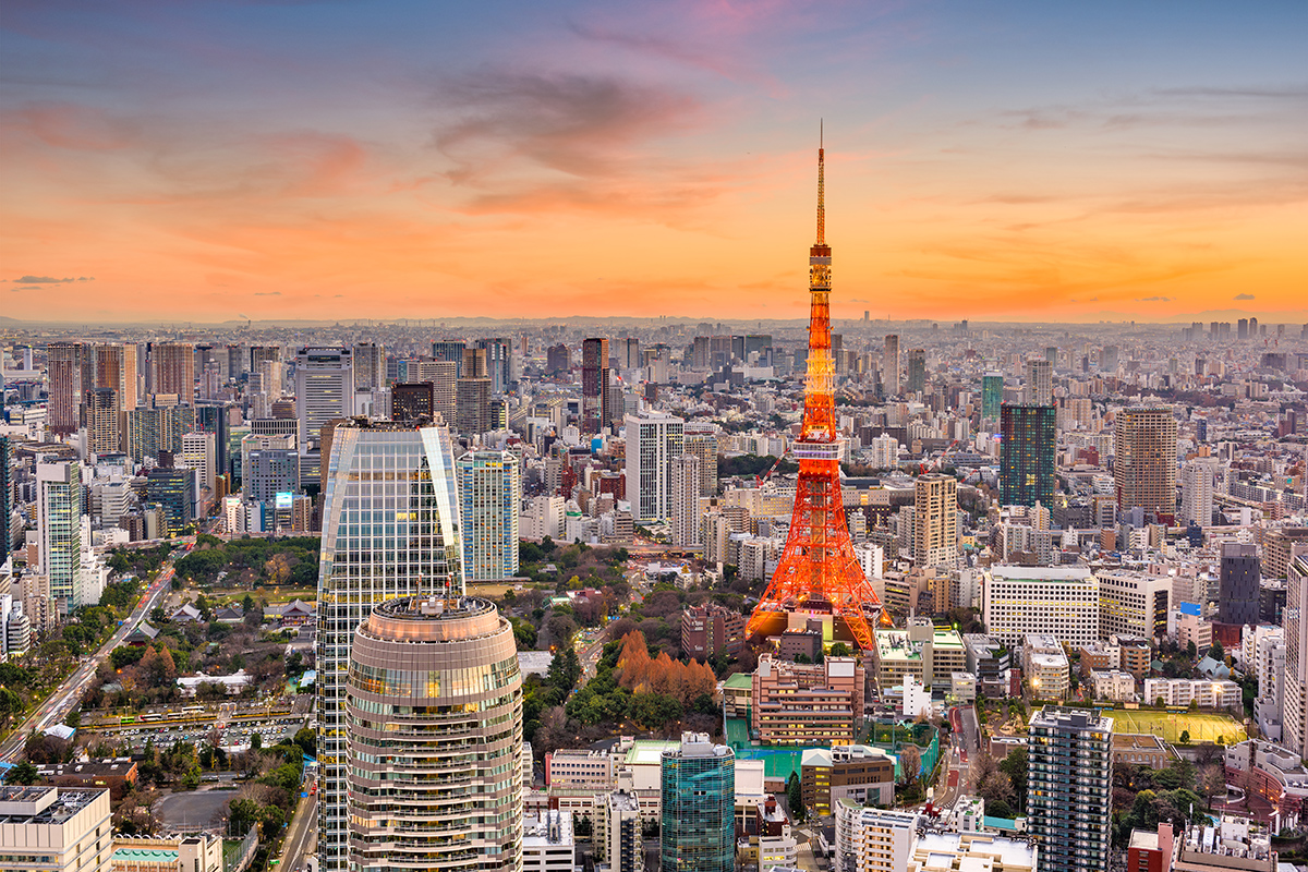 Tokyo - Japonsko