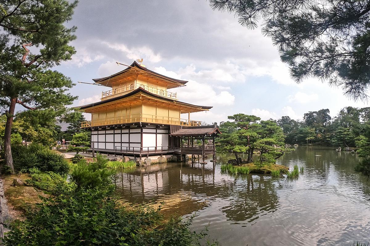 Zlatý pavilón Kyoto