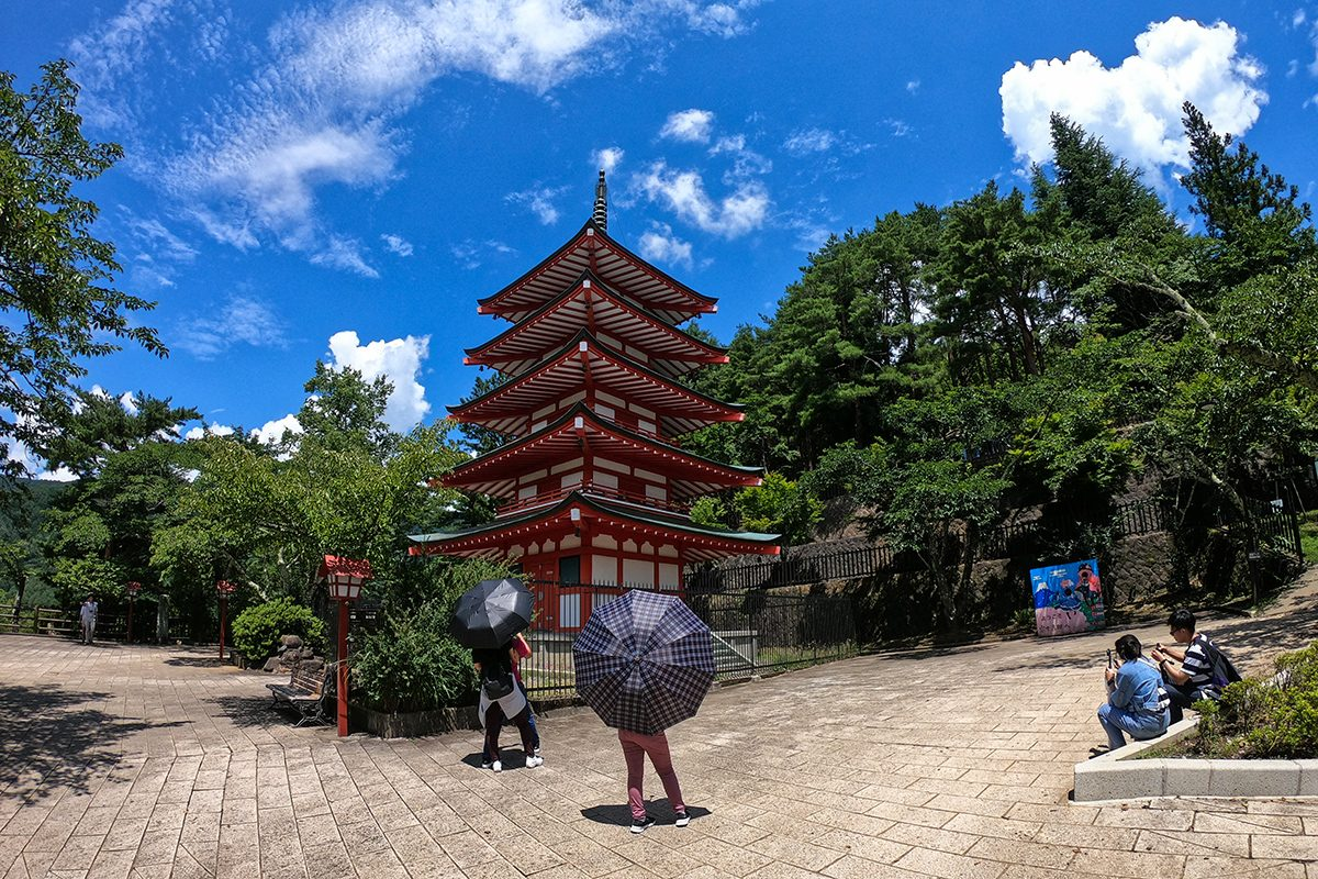 Chureito Pagoda - Fuji