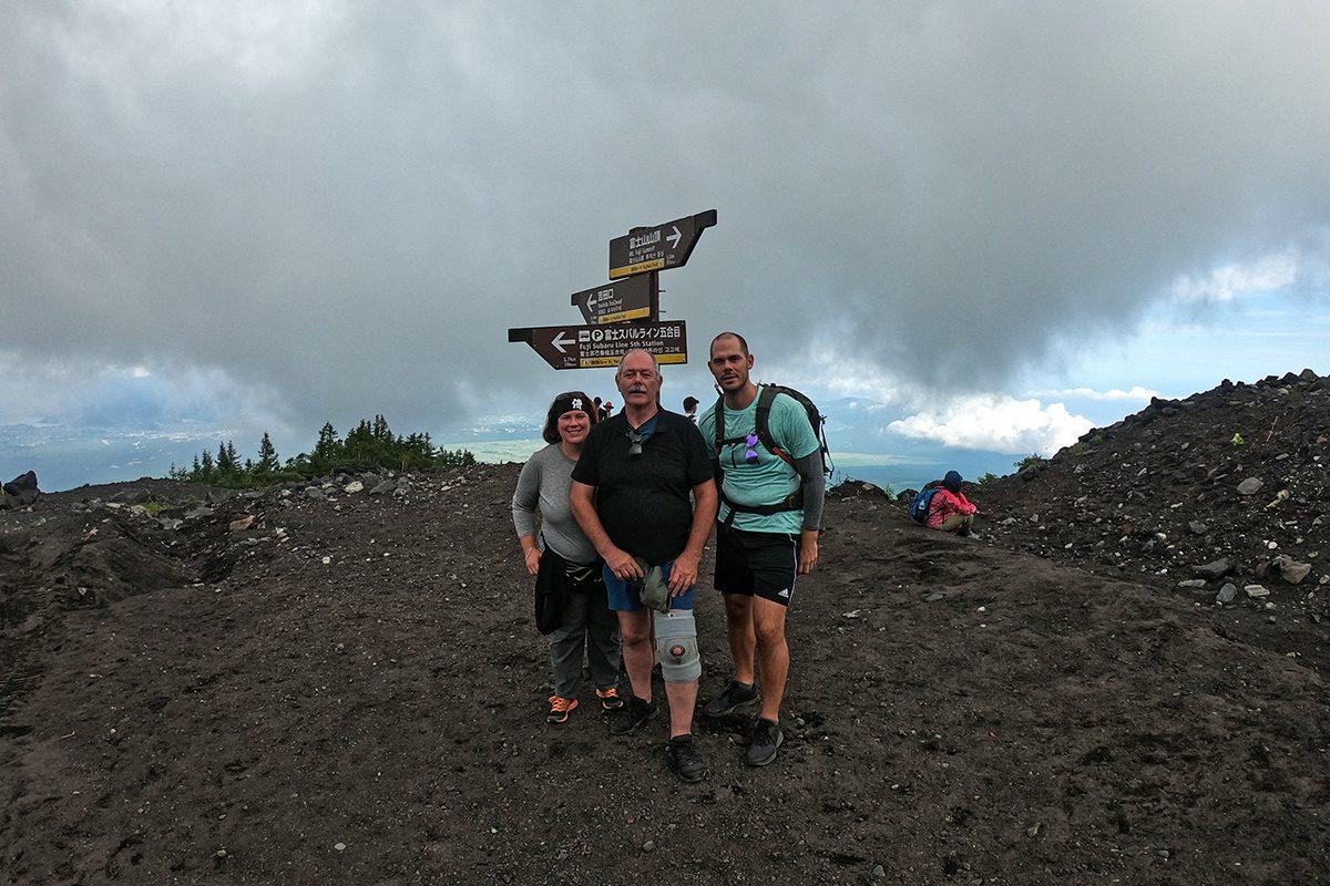 výstup na Mt. Fuji - 6. stanica
