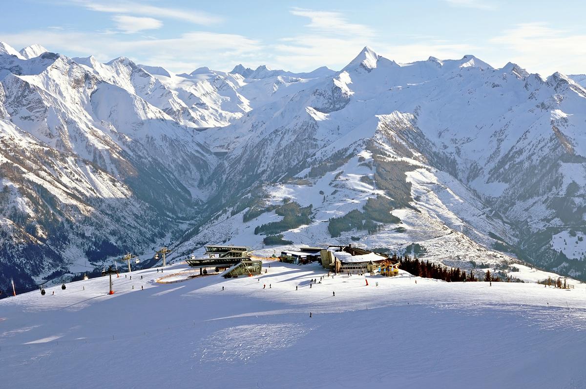 Zell am See - lyžovačka v Rakúsku