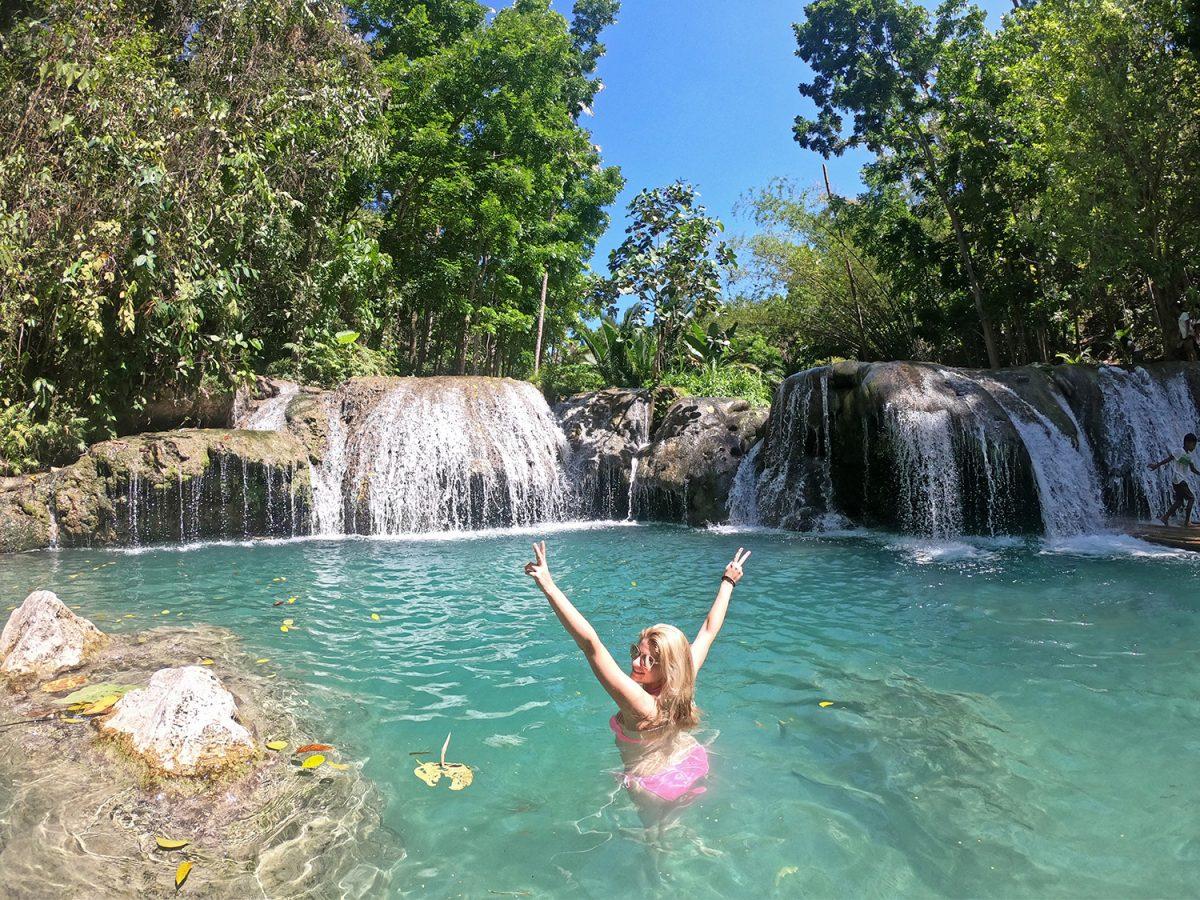 vodopády cambugahay - siquijor