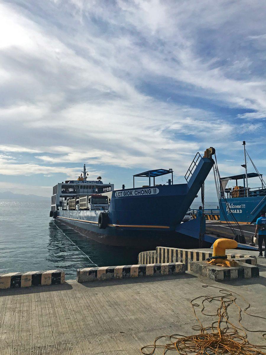 plavba na ostrov siquijor Filipíny