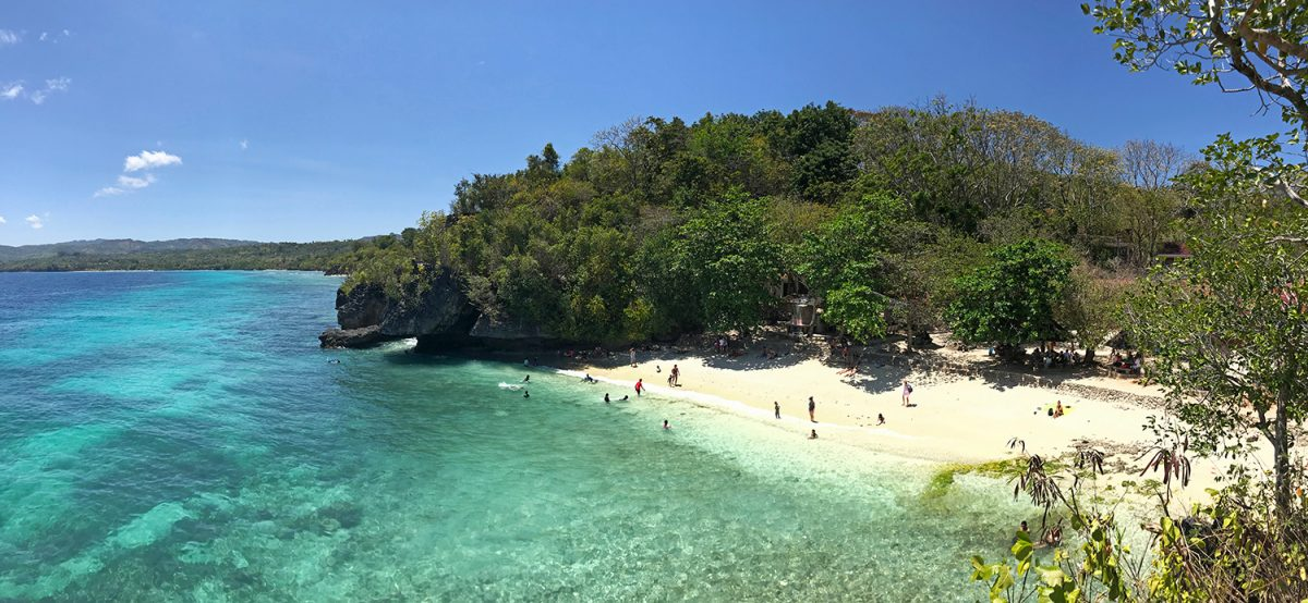 pláž salagdoong beach