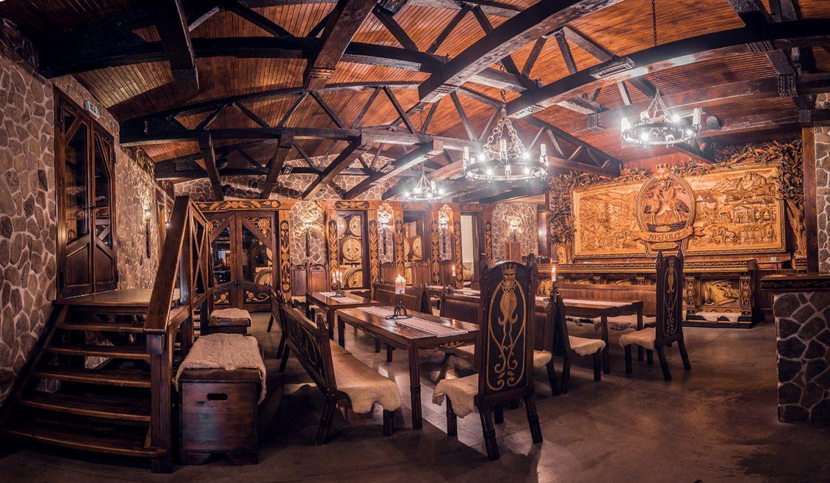 Tradičná časť expozície Nestville Distillery