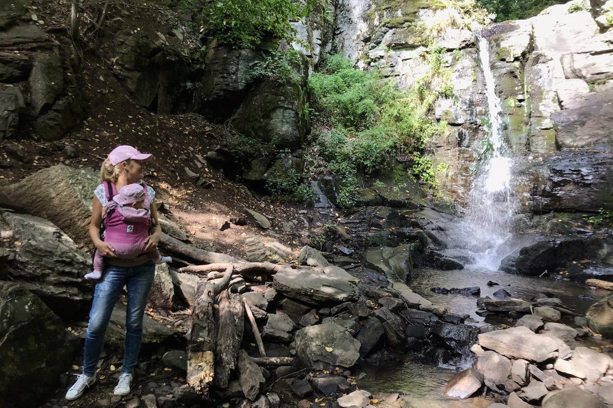 výlet k Starohutskému vodopádu