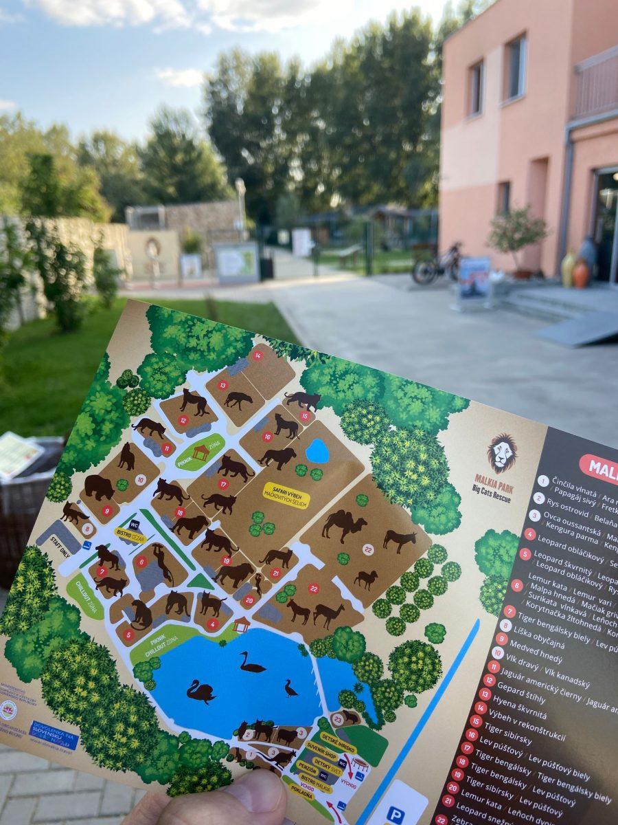 malkia park mapa